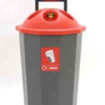 Beca-Bin & Eco Bank Recycling Bins (75 Litres)